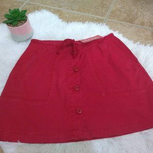 Esprit Vintage 90's Skirt new red small